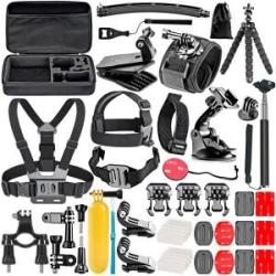 50-i-1 Action Camera Accessory Kit kompatibel med GoPro