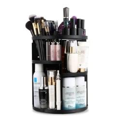 AVERY® 360º Roterande Kosmetisk Organizer - Svart Svart