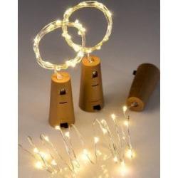 LED Kork-ljus - 1 st.