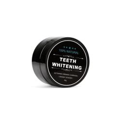 Naturlig Tandblekning Teeth Whitening Charcoal (30 g) Svart