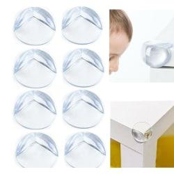 12pcs-1pcs Baby Safe Rubber Table Edge Corner 8pcs