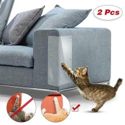 2pcs Sofa Wall Pets Cat Scratch Guard Shield Skydd