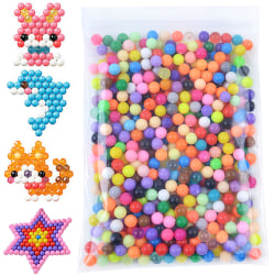 500-6000pcs beads 34 Matt/Crystal Colors Aqua Water Color Mixed 500 PCS
