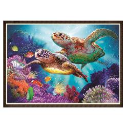 5D Sea Turtle Diamond Painting Embroidery Kits Decor Sea Turtle 40*30cm