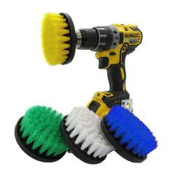 5-tums borrborste Power Scrubber-borr för rengöring av mattor Yellow