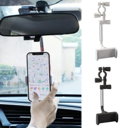 ABS Backspegelmonterad Stativ Telefon GPS Hållare