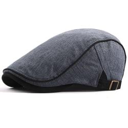 Justerbar Flat Newsboy-keps Män Ivy Hat Golf Outdoor Warm