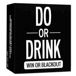 Adult Party Game - Do or Drink - Drinking Card Fun&Dirty Party