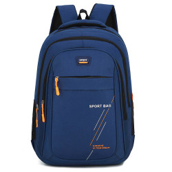 Adults Children Fashionable Waterproof Backpack Casual Bags Blue