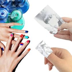 Aluminium Foil Remover Nail Art Gel Polish Nail Clean 100pcs