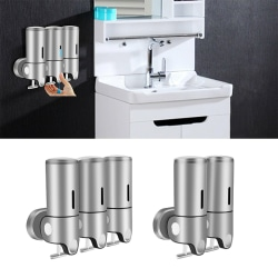 Aluminum Alloy Pull Rod High Capicity Soap Dispenser Two 1000ML