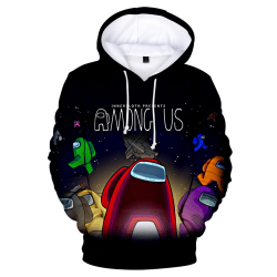 Among Us 3D Print Kids Hoodies With Pockets Sweatshirt G 130cm