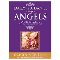 Angel Tarot Cards Deck Guidance Psychic 44 Full Colour Oracle