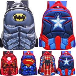 Anime DC Kids Backpack Marvel Shoulderbag Batman