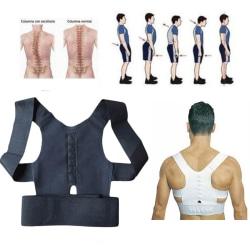 Back Support Posture Corrector Band Black M