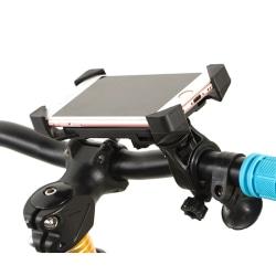 Cykelhållare för mobiltelefonstativ Cykelmonterad cykel iPhone Black