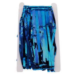 Födelsedagsdekor Party Glitter Gardiner Bröllopsdekor Blue