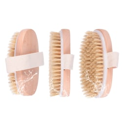 Body Brush Skin Natural Exfoliator Shower Scrub 12*6.4cm
