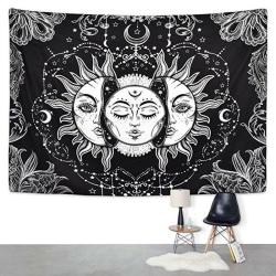 Bohemian Sun Moon Living Room Bedroom Decorative Tapestry 148*200cm
