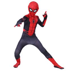 Pojkar Spiderman Superhjälte Halloween kläduppsättningar Cosplay