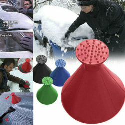 Bil vindruta magisk isskrapa konformad verktygsborttagare snö Black