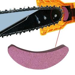 Chainsaw Grindstone Crescent Shape Millstone 3pcs