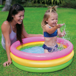 Children Kids Padding Pool Garden Dog Play Pool 150*32cm