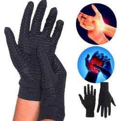 Compression Gloves Anti Arthritis Pain Relief Black M