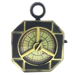 Cosplay Decoration Halloween Pirate Prop Fake Compass Captain 11.5cm*9.5cm