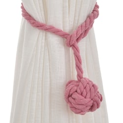 Curtain rope Ball Curtain Tie backs Holdbacks Curtains Decors Pink