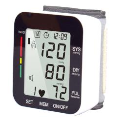 Digital Wrist Sphygmomanometer BP Cuff Blood Pulse Test