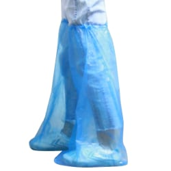 Disposable Shoes Cover Cleaning Overshoes Safety Blue 5 pair