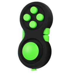 Fidget Pad Fidget Toy Cube Children Desk Toy Adults Gift Black Green