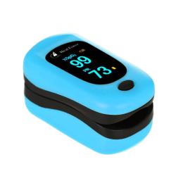 Fingertip Pluse Oximeter Blood Oxygen Saturation Moniter POD-3 Blue