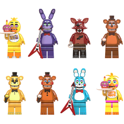Five Nights at Freddy's Minifigures Building Blocks Foxy Game F