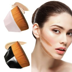 Flawless Wand Foundation Brush High Density BB Cream Brush Pink