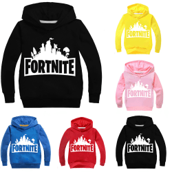 Fortnite Hoodie Kids Boys Girls Print Kids shirt black 160 cm