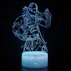 Fortnite Game Cosplay Prop 3D LED Lamp Night Pics-3 Predator