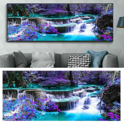 Full Drill DIY 5D Diamond Painting Kits Water Fall 100*40cm