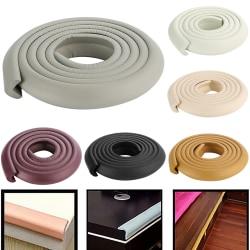Furniture Edge Protecction Rubber Cycle Wrap Stripe White 20 cm