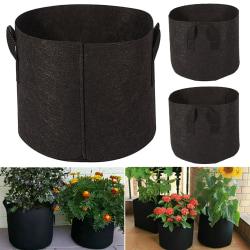 Trädgårdsplanering Påse Grön Container för Potatispåse 5 PC - 30*25cm