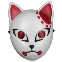 Halloween Mask Demon Slayer Kimetsu no Yaiba Fox Cosplay Costume Kamado Tanjirou