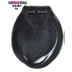 Headband Front Hair Bangs Fringe Hair wigs 1#