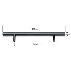 Home Knob Wardrobe Stainless Steel Handle Wardrobe 10*96*150mm