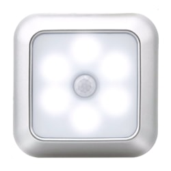 Home LED Induction Light Energe-saving Room Lamp Protable White