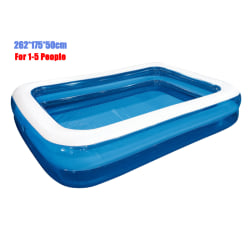 Inflatable Family Garden Swimming Pool 262 cm