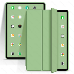 iPad Air Case Foldable protective PU Silicone Case for ipad 9.7 Light Green iPad Mini 1 2 3 4 5