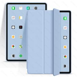 iPad Air Case Foldable protective PU Silicone Case for ipad 9.7 Sky Blue iPad 9.7 2017 2018