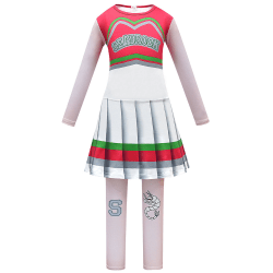 Kids Anime Cosplay Costume Zombie College 2cos Service Pleated Costume 140cm