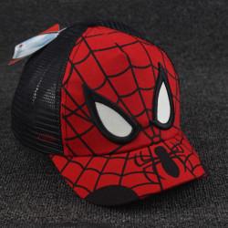 Kids Boy Spiderman Caps Casual Sports Gym Casual Mössor Black